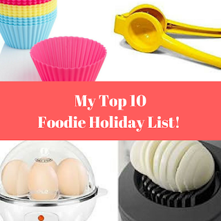 My Top 10 Holiday Foodie Gifts 2017!