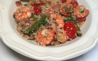 Shrimp & Veggie