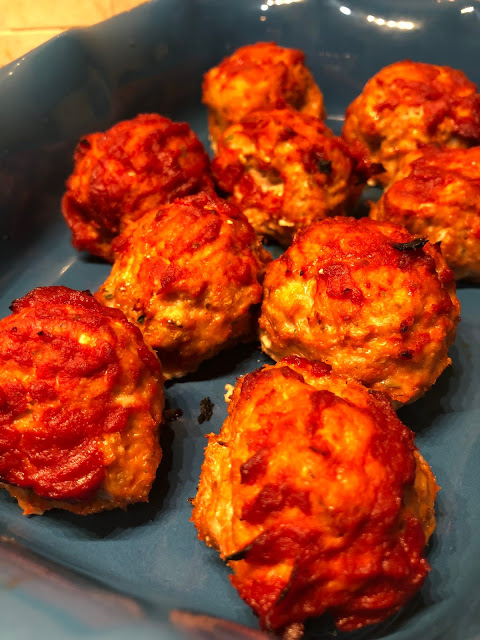 Healthy Chicken Meatballs