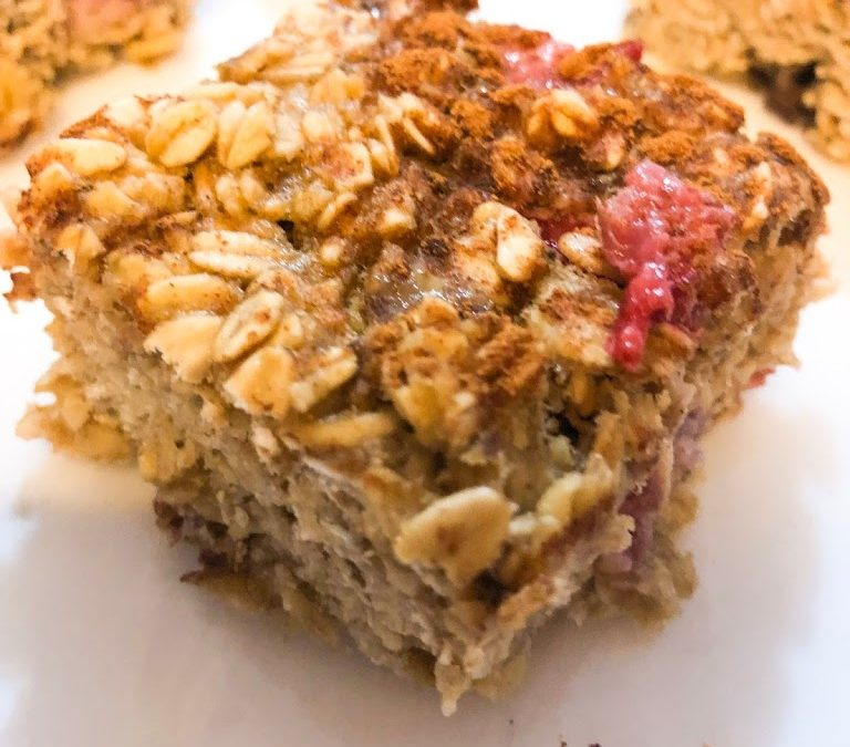 Fruity Oatmeal Bars
