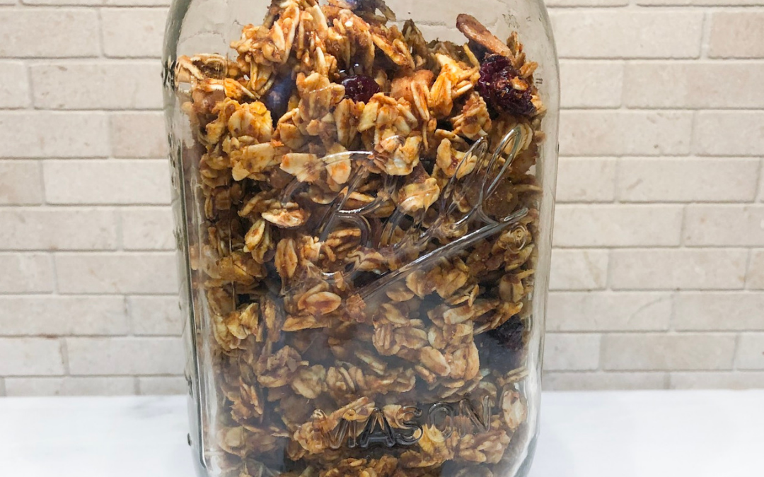 Healthy Pumpkin Granola