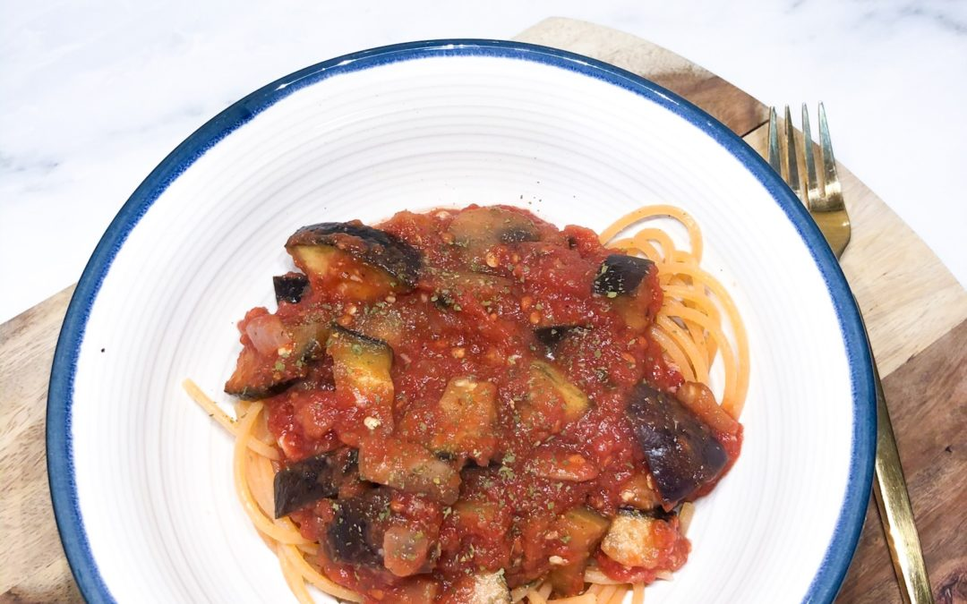Quick & Easy Eggplant Tomato Stew