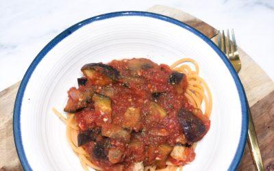 Quick & Easy Eggplant Tomato Stew
