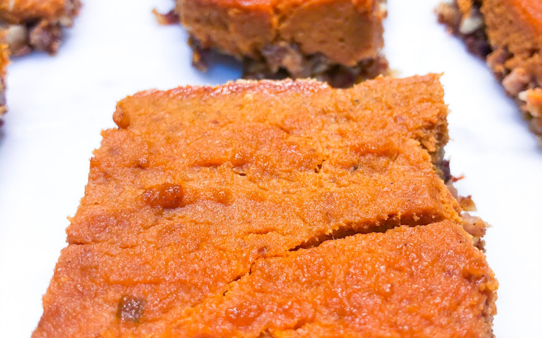 Healthy Pumpkin Bars