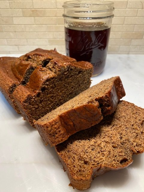Coffee-Infused Banana Bread