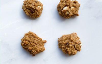 Quinoa Almond Chocolate Chip Cookies