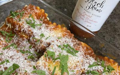 Veggie Lasagna Roll-Ups