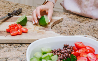 Tequila Lime Bean Salad