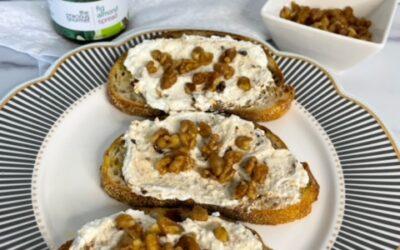 Fig Almond Ricotta Toast